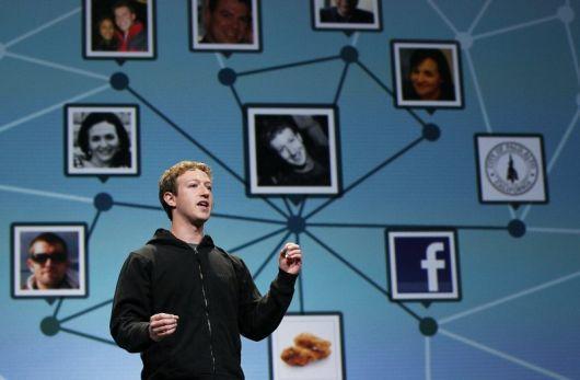 Марк цукерберг - розробник facebook