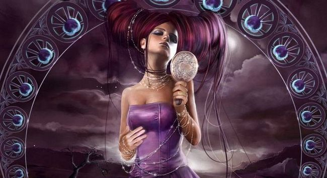 Притча про дівчину і дзеркалі