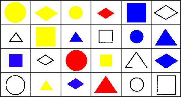 «Розділи на групи» (4 - 5 років)